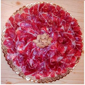 Bandeja jamón ibérico bellota de Charcutería Tradicional