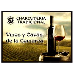 Anuncio fachada venta vinos y Cavas de Comarca Utiel-Requena