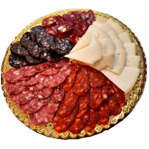 Bandeja embutido de Requena y queso de Charcutería Tradicional