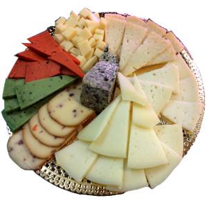 Bandeja de ocho quesos de Charcutería Tradicional