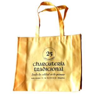 Bolsa tela celebración 25 aniversario de Charcutería Tradicional