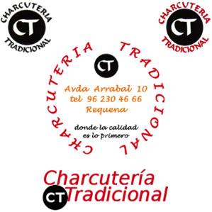 Logo de Charcutería Tradicional y sus variaciones